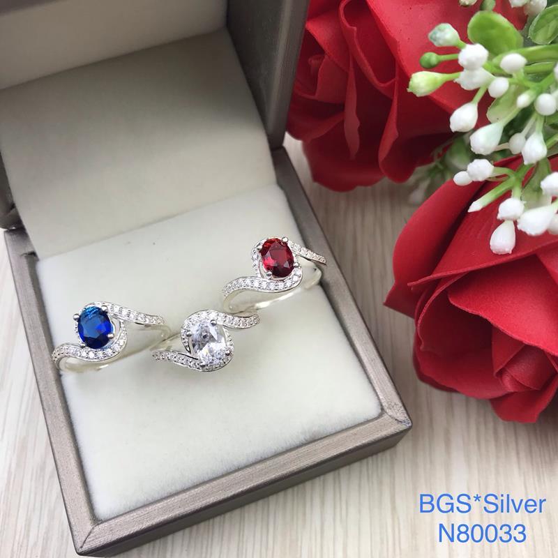N80033 Nhẫn bạc nữ cao cấp đẹp độc lạ HCM