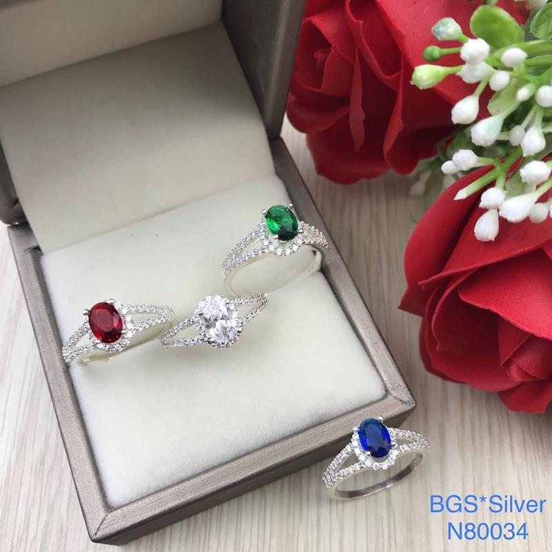 N80034 Nhẫn bạc nữ cao cấp đẹp độc lạ HCM