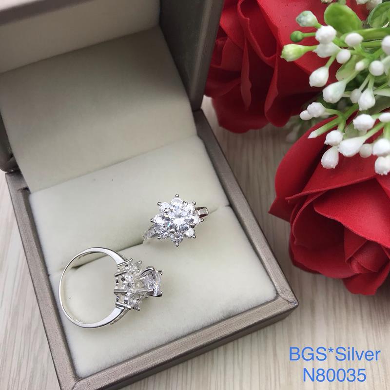 N80035 Nhẫn bạc nữ cao cấp đẹp độc lạ HCM