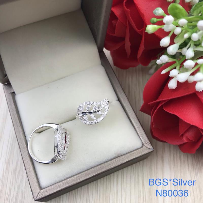 N80036 Nhẫn bạc nữ cao cấp đẹp độc lạ HCM