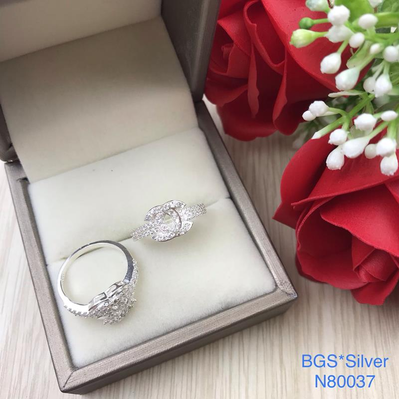 N80037 Nhẫn bạc nữ cao cấp đẹp độc lạ HCM