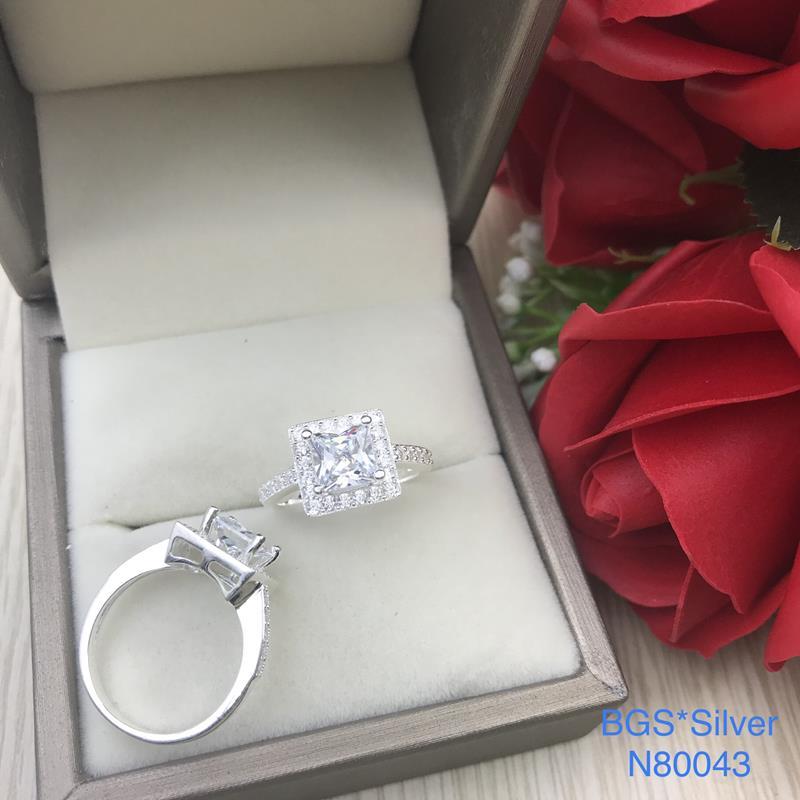 N80043 Nhẫn bạc nữ cao cấp đẹp độc lạ HCM