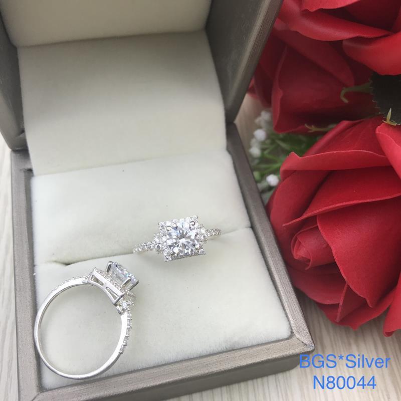 N80044 Nhẫn bạc nữ cao cấp đẹp độc lạ HCM