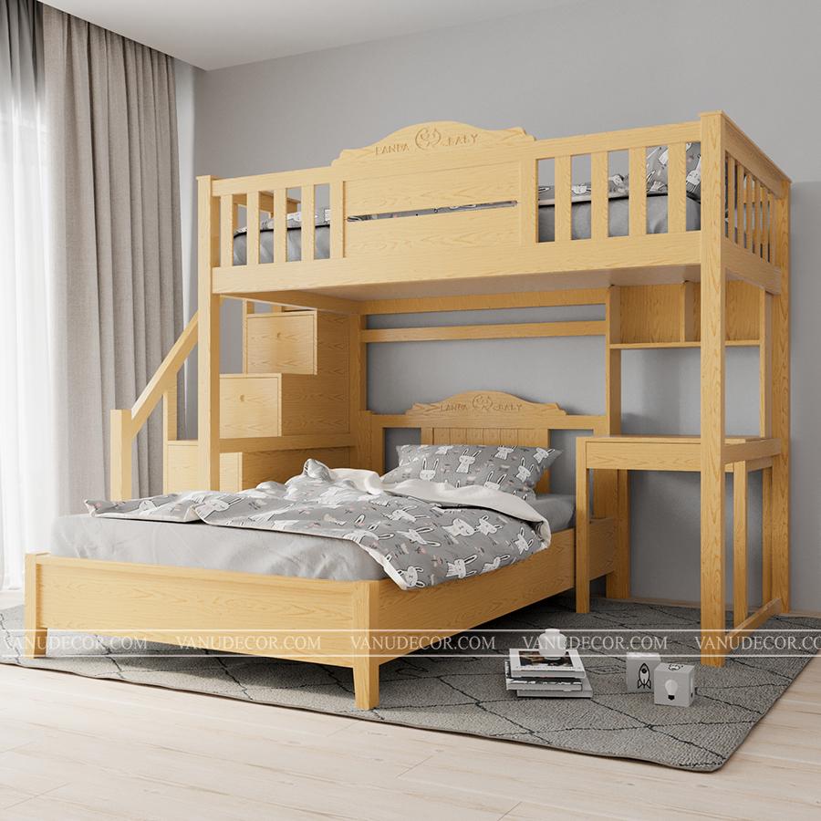 Giường tầng trẻ em GT131