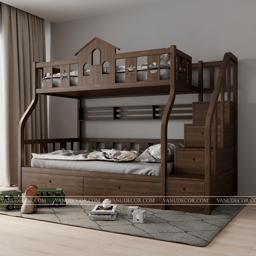 Giường tầng trẻ em GT128