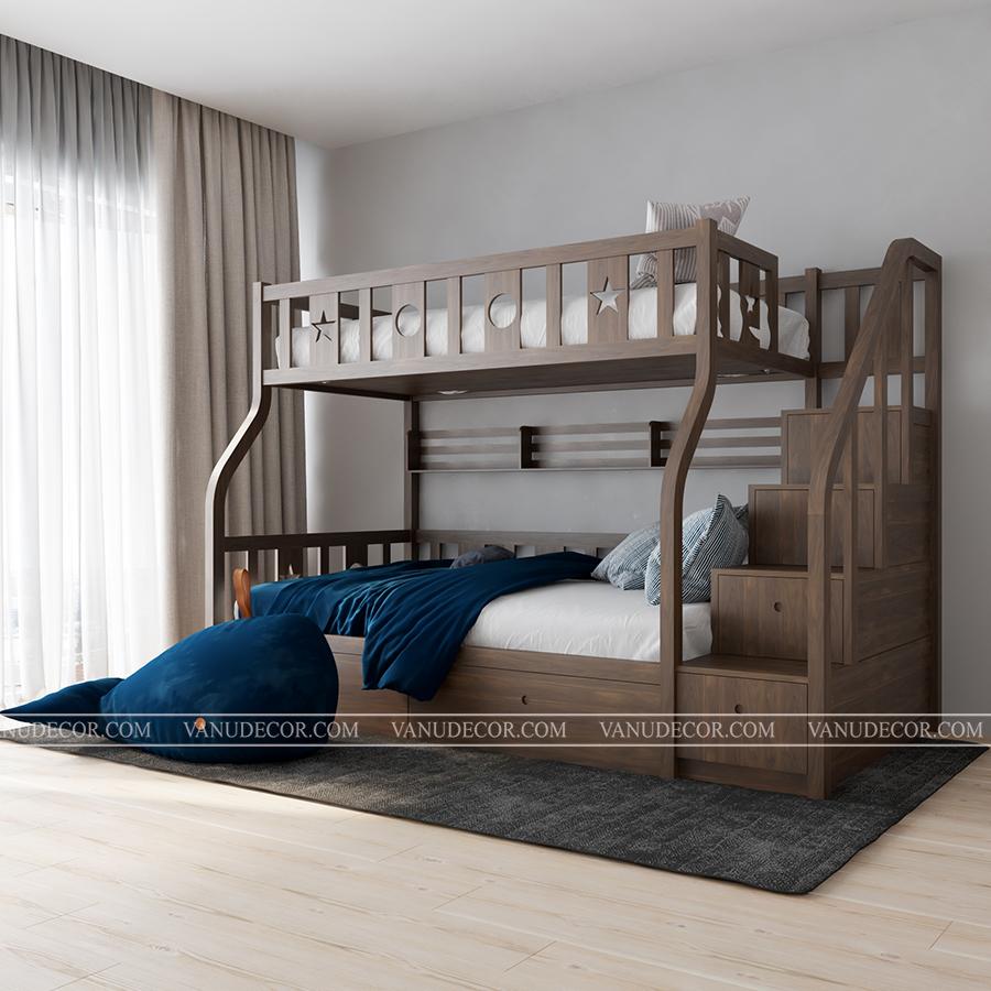 Giường tầng trẻ em GT124