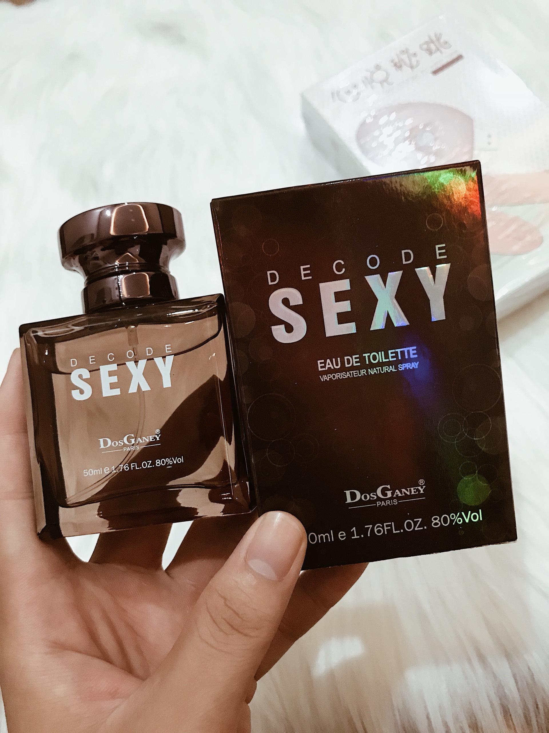 Nước hoa kích dục nam nữ Sexy Decode