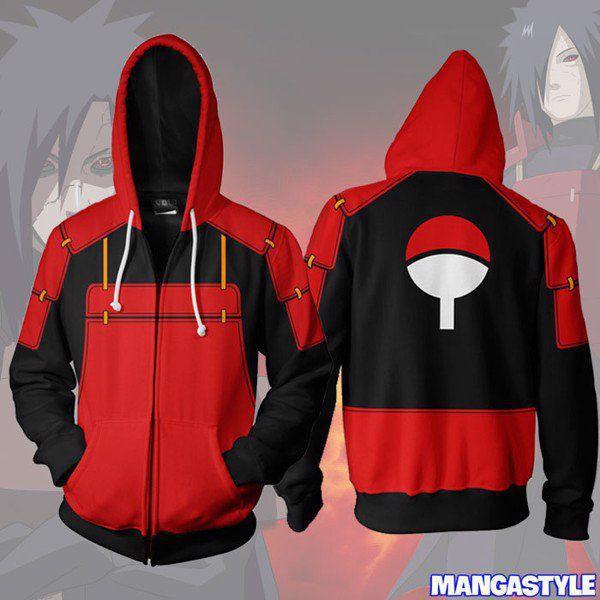 Áo Khoác 3D Naruto