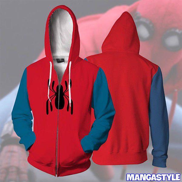 Áo Khoác 3D Spider-Man ( Homemade Suit Ver )
