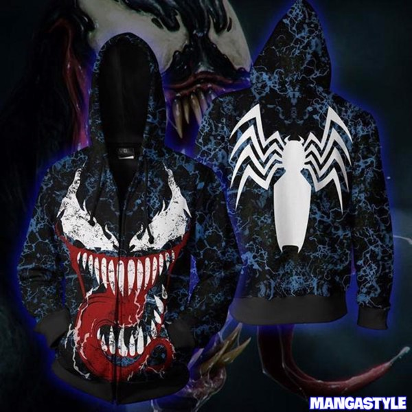 Áo Khoác 3D Symbiote