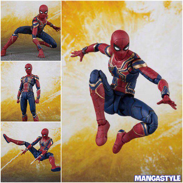 Avengers Infinity War S.H.Figuarts Iron Spider & Tamashii Stage