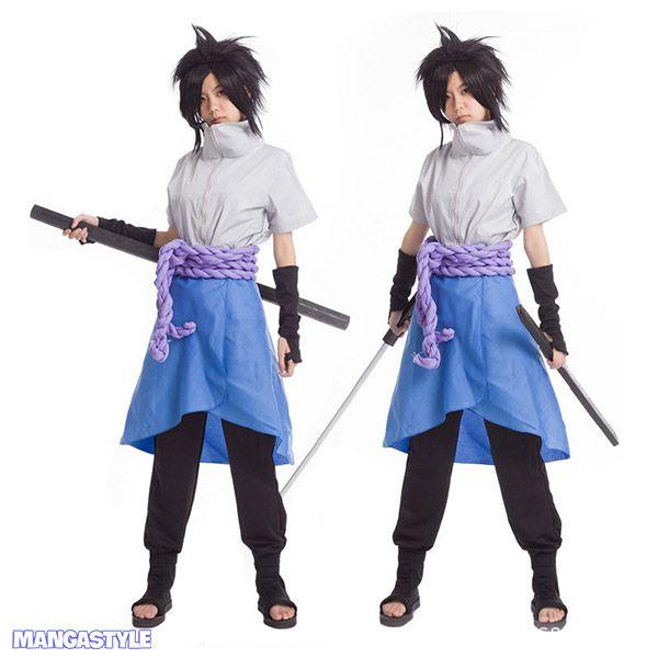 Bộ Cosplay Uchiha Sasuke Shippuuden