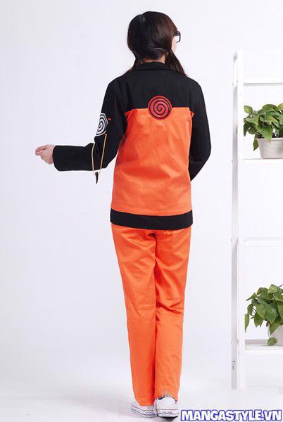 Bộ Cosplay Uzumaki Naruto Shippuuden