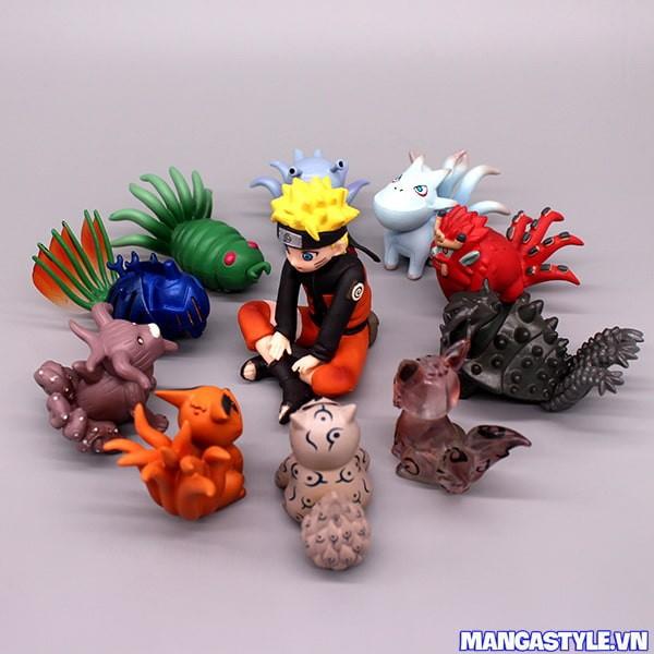 Bộ Mô Hình Naruto và 9 Vĩ Thú