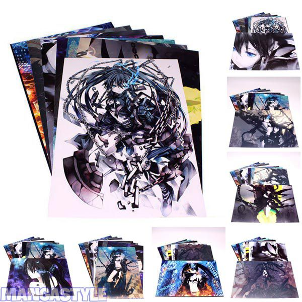 Bộ Poster Black Rock Shooter
