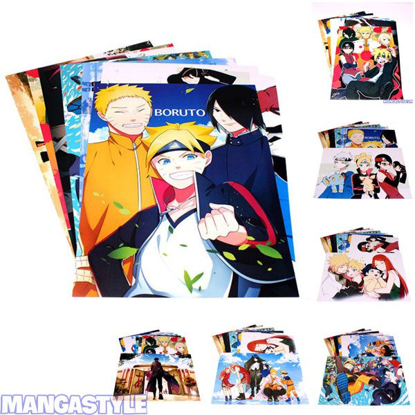 Bộ Poster Naruto