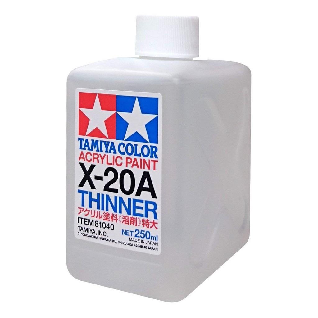 Dung dịch pha sơn TAMIYA - Acrylic Thinner X-20A