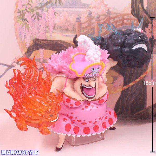 Figure One Piece Four Emperors Big Mom Pink Dress Ver