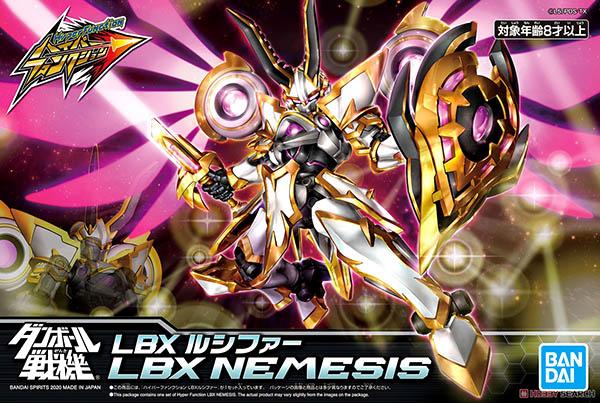 Mô Hình Lắp Ráp Hyper Function LBX Nemesis