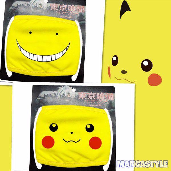 Khẩu Trang Pikachu