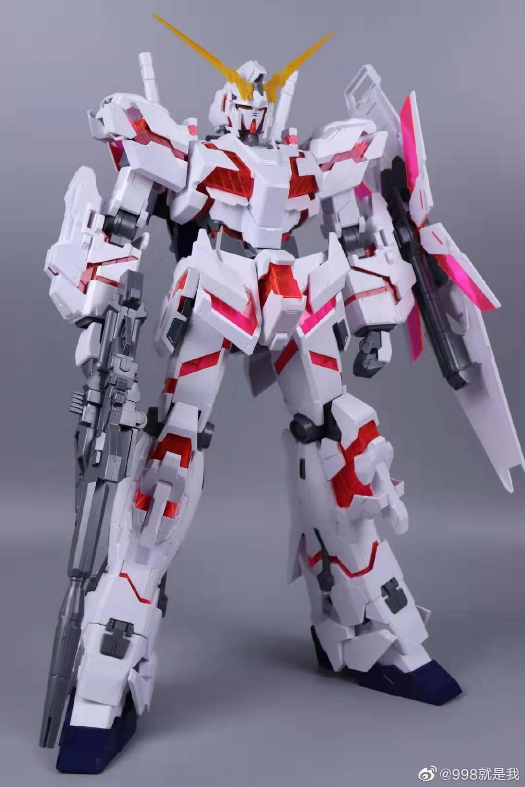 Mega Size Model Unicorn Gundam - Destroy Mode - Daban Model