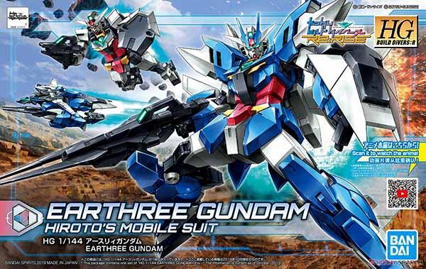 Mô Hình  HGBD R Earthree Gundam