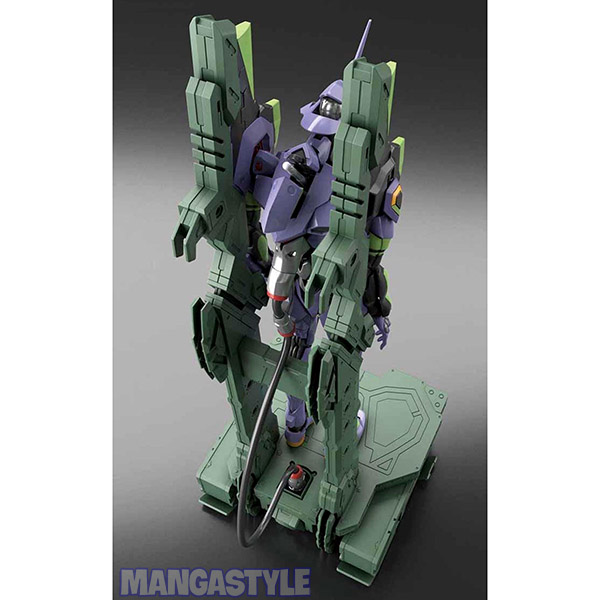 Mô Hình RG Evangelion EVA Unit-01 DX Transport Platform Set