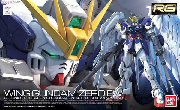 Mô Hình RG  XXXG-00W0 Wing Gundam Zero EW