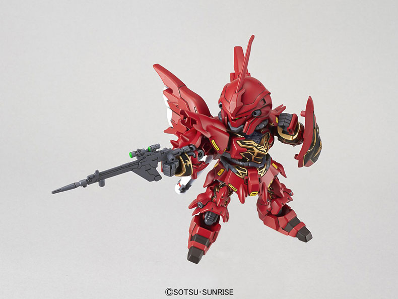 Mô Hình SD Gundam EX-Standard Sinanju