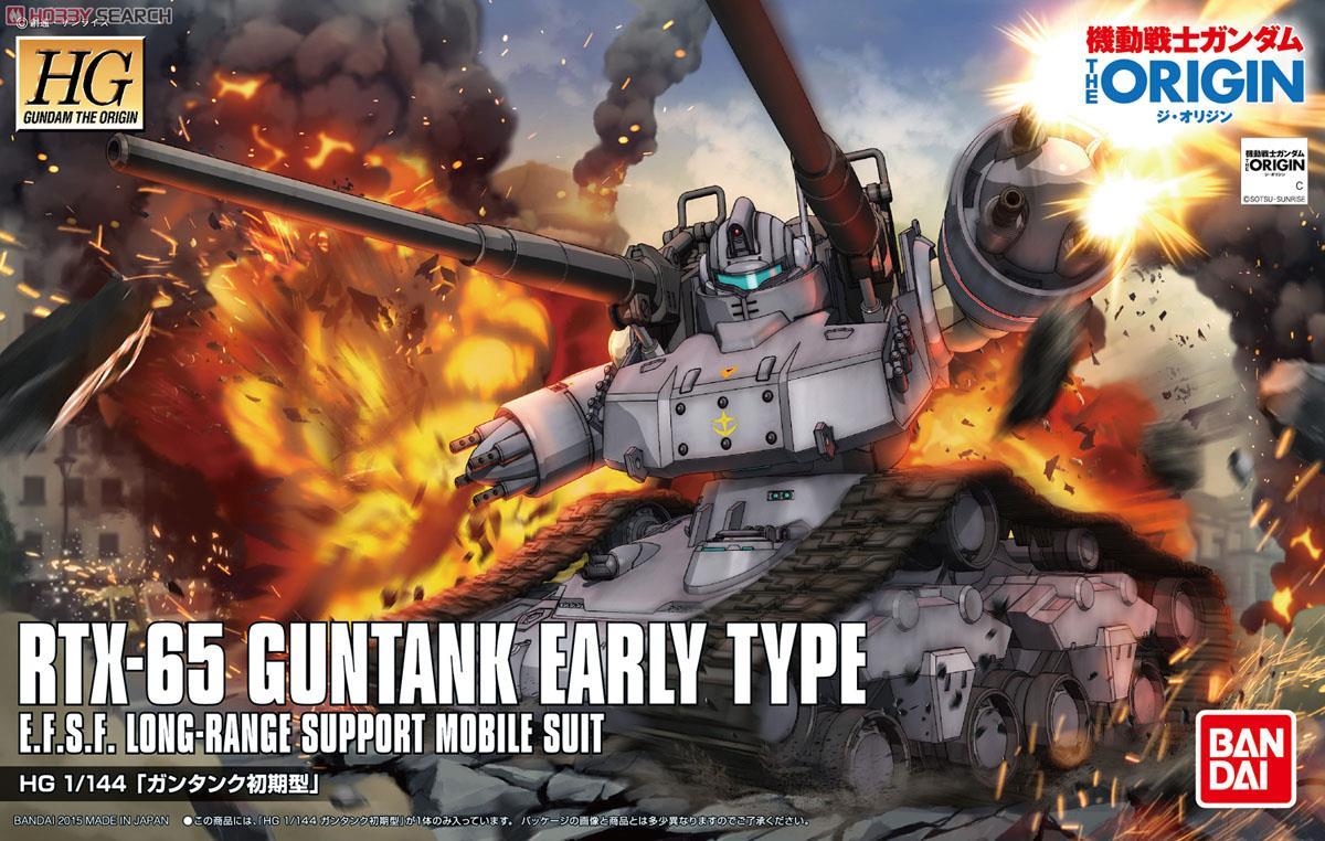 Mô Hình Gundam HG Guntank Early Type