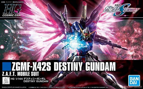 Mô Hình Gundam HGCE Destiny Gundam