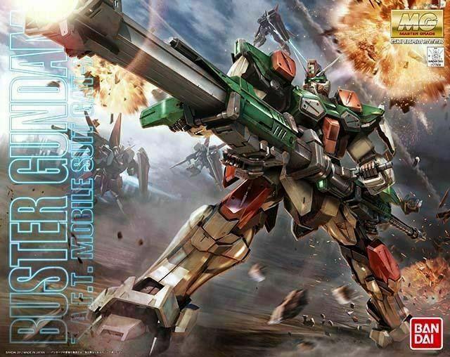 Mô Hình MG GAT-X103 Buster Gundam