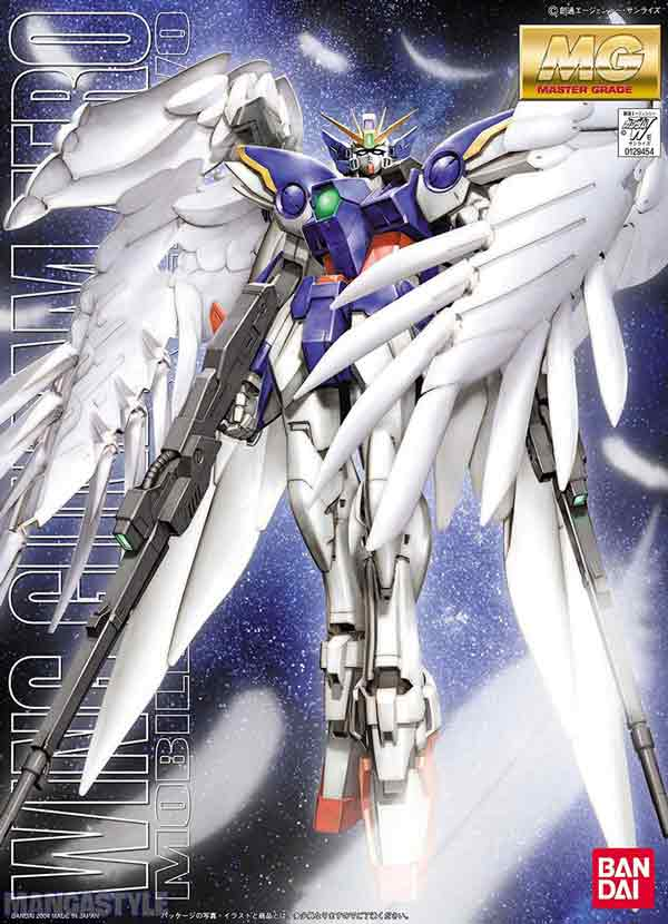 Mô hình MG XXXG-00W0 Wing Gundam Zero Custom