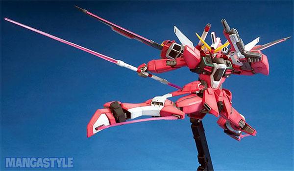 Mô Hình MG ZGMF-X19A Infinite Justice Gundam