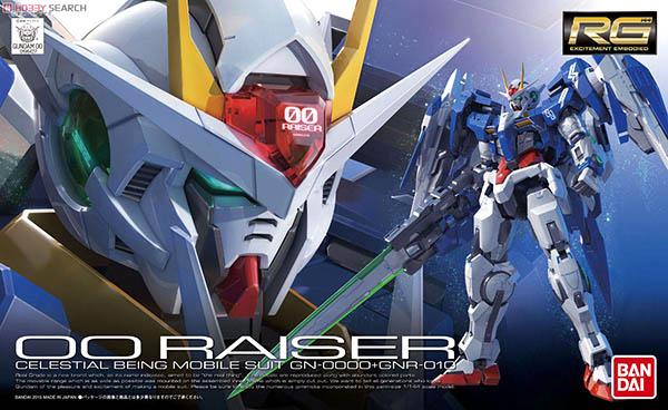 Mô hình RG GN-0000+GNR-010 00 Raiser