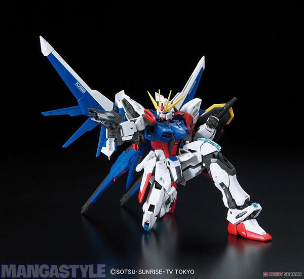 Mô Hình RG GAT-X105BFP Build Strike Gundam Full Package