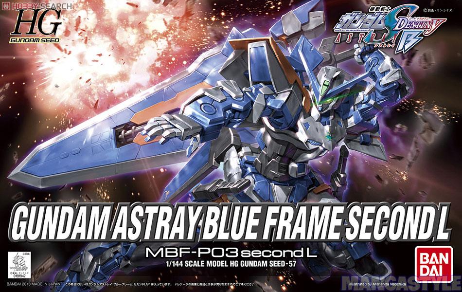 Mô Hình HG Gundam Seed Gundam Astray Blue Frame Second L