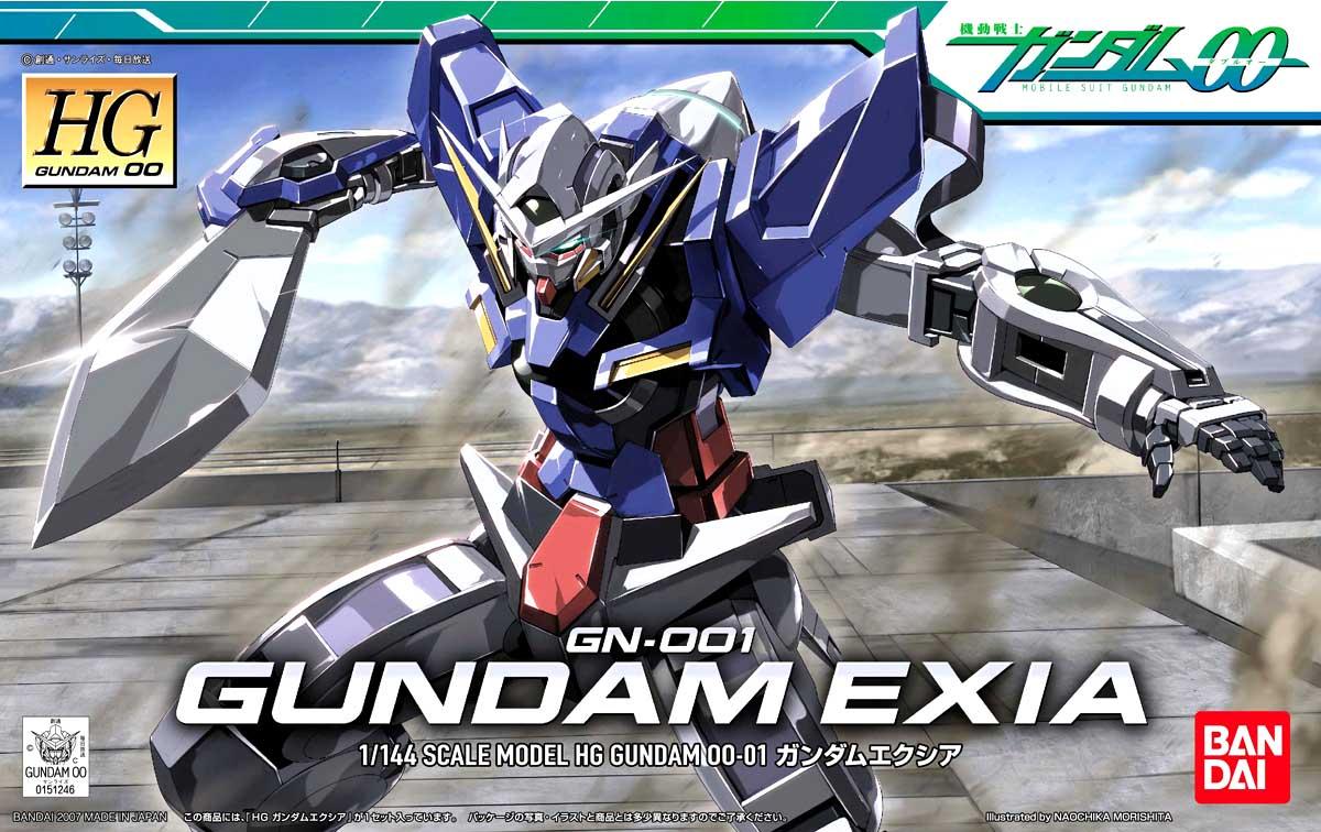 Mô Hình HG00 GN-001 Gundam Exia
