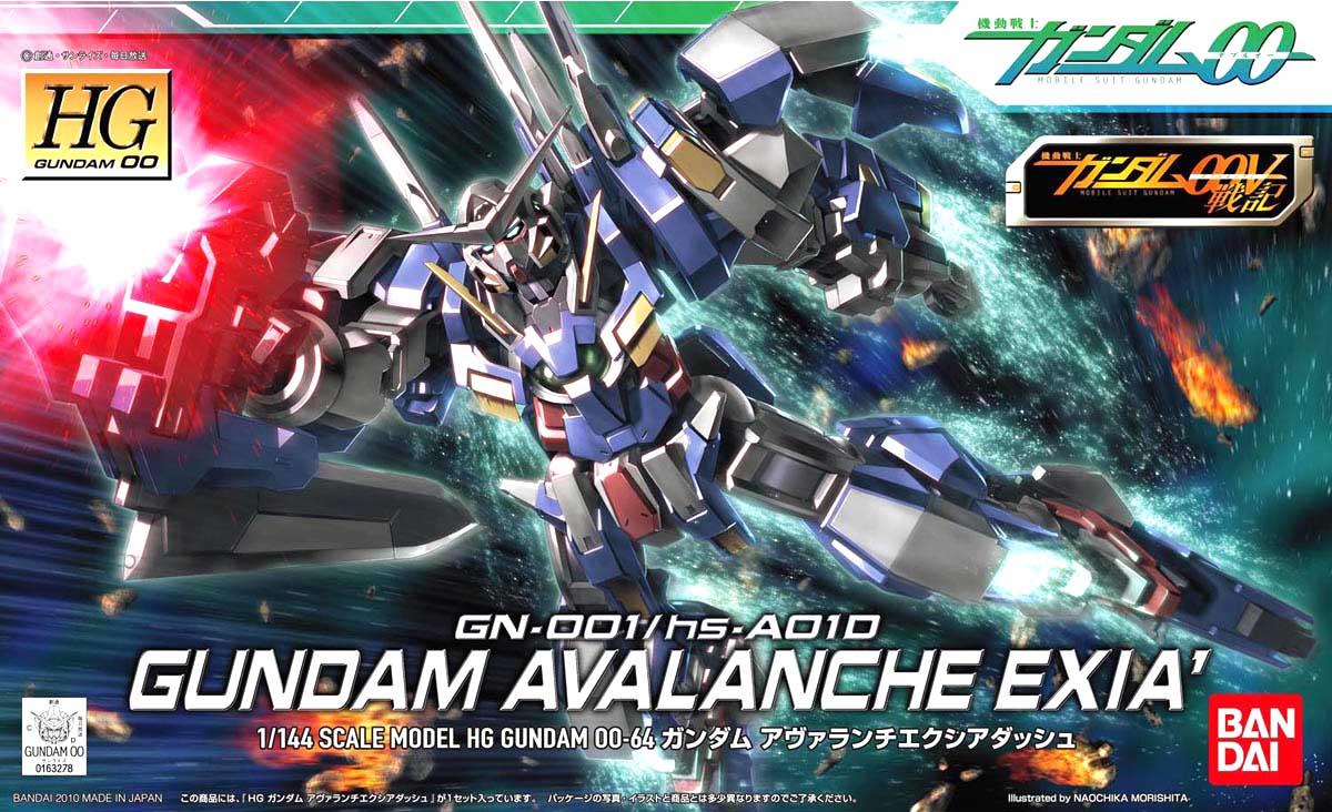 Mô Hình HG00 Gundam Avalanche Exia Dash