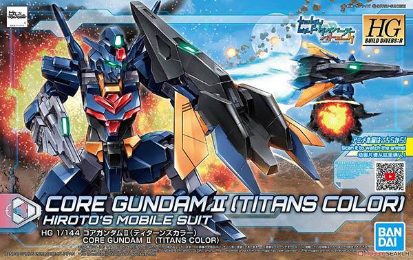 Mô Hình HGBD:R Core Gundam II (Titans Color)