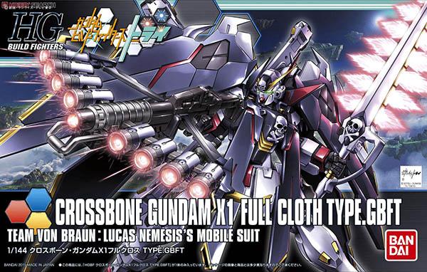 Mô Hình HGBF Crossbone Gundam X1 Full Cloth TYPE.GBFT
