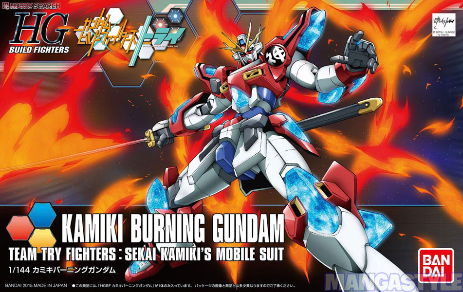 Mô Hình HGBF Kamiki Burning Gundam