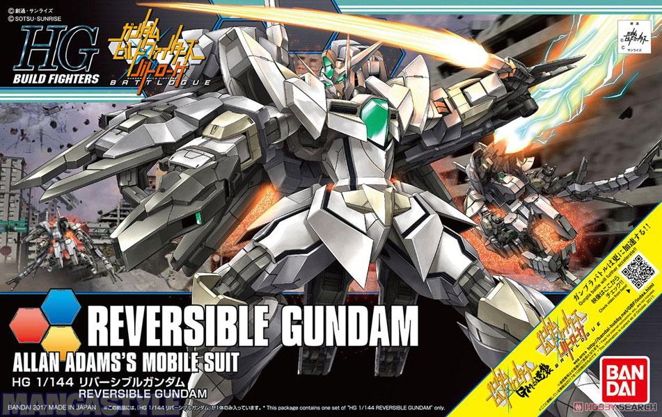 Mô Hình HGBF Reversible Gundam