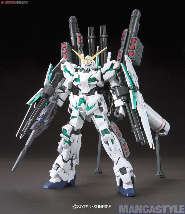 Mô Hình HGUC Full Armor Unicorn Gundam (Destroy Mode)