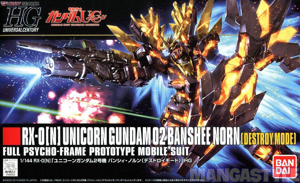 Mô Hình HGUC Unicorn Gundam 02 Banshee Norn