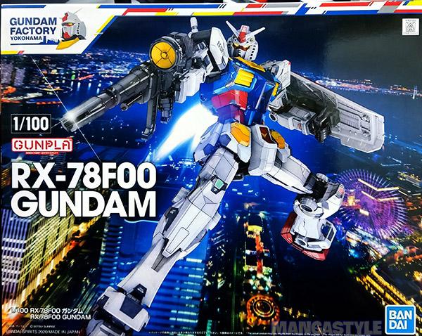 Mô Hình Lắp Ráp GUNDAM FACTORY YOKOHAMA 1/100 RX-78F00