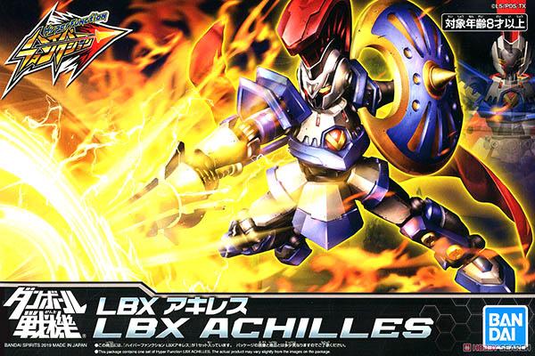 Mô Hình Lắp Ráp Hyper Function LBX Achilles