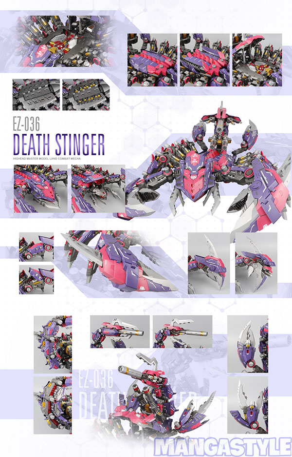 Mô Hình Lắp Ráp ZOID ZA EZ-036 DEATH STINGER
