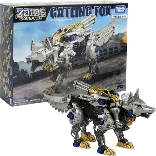 Mô Hình Lắp Ráp Zoids ZW34 Gatling Fox