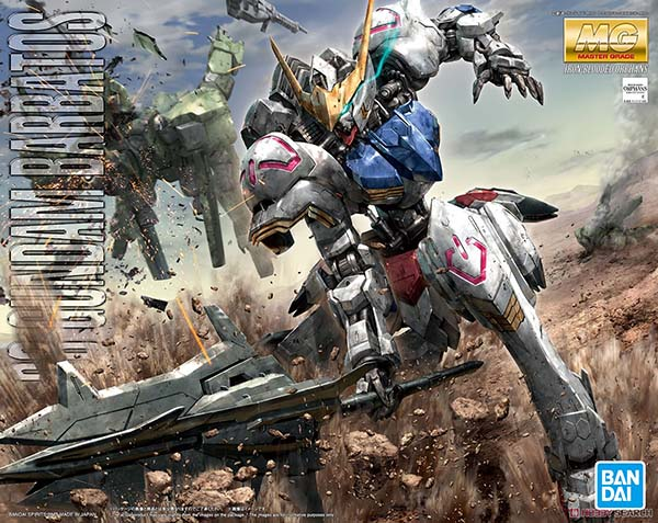 Mô Hình MG Gundam Barbatos